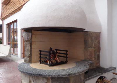 Offener Grill Natursteine KS-Ofenbau