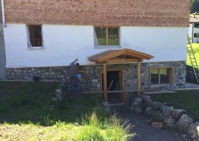 Naturstein Fassade Steingrau ks Ofenbau