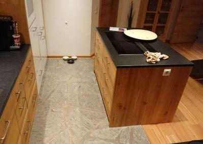 Naturstein Fliesen Küche KS-Ofenbau