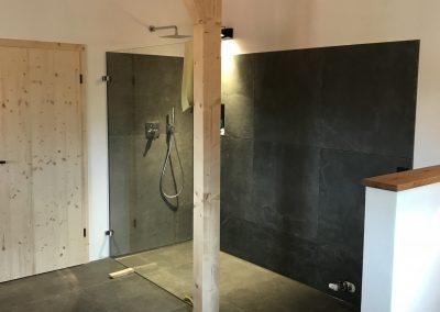 Fliesenverlegung Dusche vom Profi KS-Ofenbau