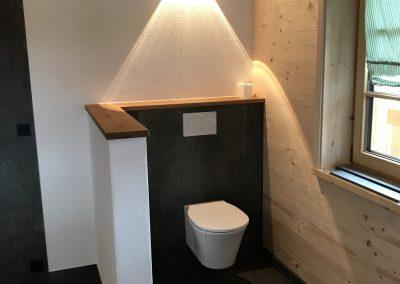 Fliesenverlegung WC vom Profi KS-Ofenbau
