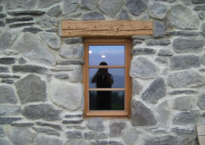Naturstein Fassade Fenster Allgäu